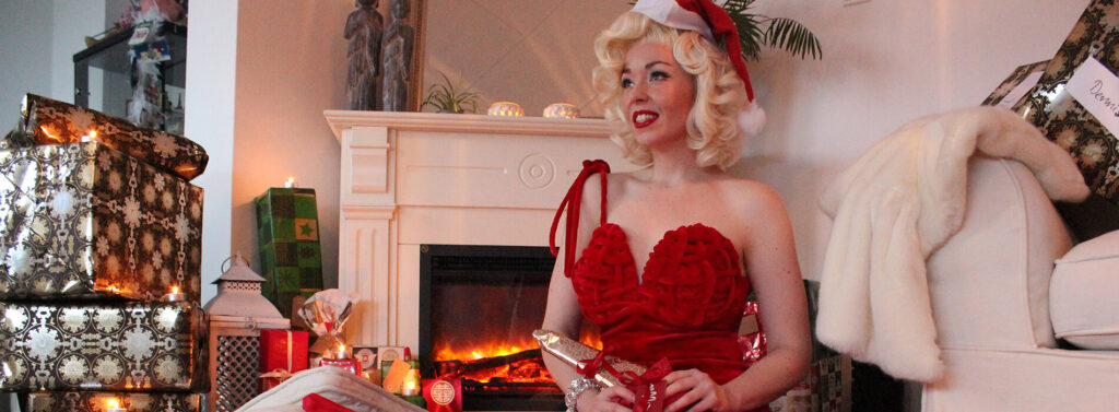 merilyn monroe look a like kerstbal