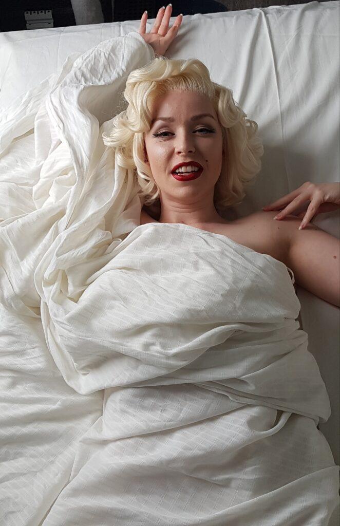 Marilyn Monroe lookalike, Marilyn Monroe look alike, Marilyn Monroe lookalike boeken, Marilyn Monroe