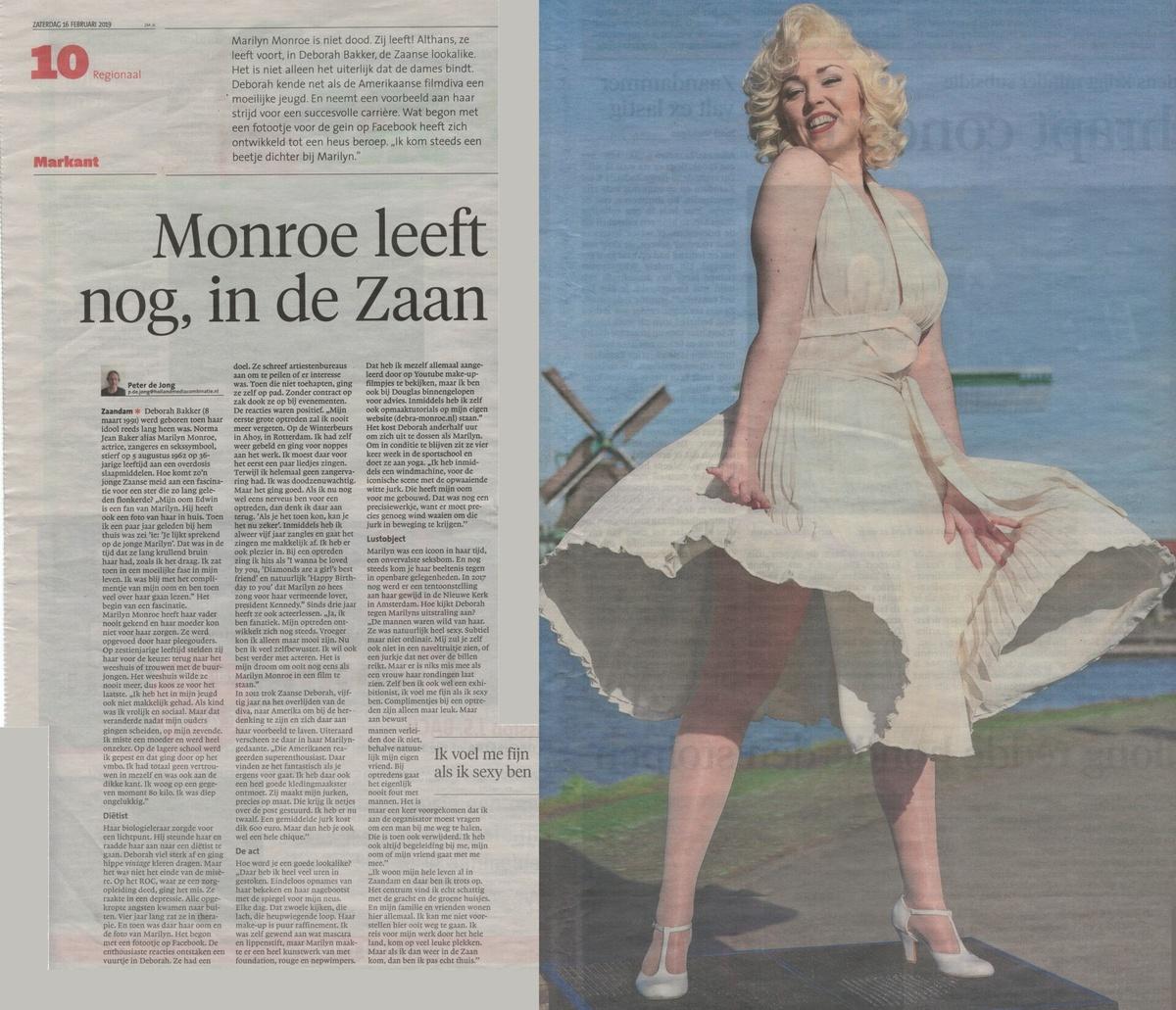 Debra Monroe, Marilyn Monroe lookalike, Marilyn Monroe look alike, Marilyn Monroe lookalike boeken, Marilyn Monroe